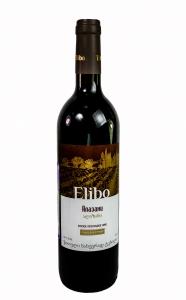 """Вино """"Элибо Алазани"""" красное п/сл 11,5% 0,75л (Грузия)"""