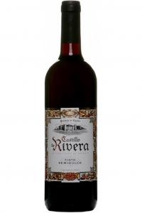 """Вино столовое """"Кастильо де Ривера"""" сухое красное 0,75 л."""