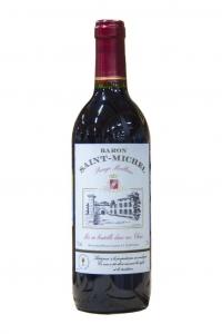"""Вино столовое красное сухое """"Барон Сан Мишель"""" 0,75л."""