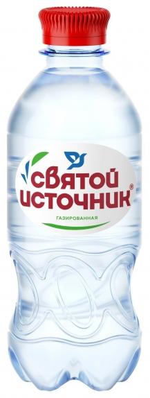"""Вода газированная """"Святой источник"""" 0,5л"""