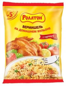 """Лапша """"Роллтон"""" быстрого приготовления со вкусом курицы 40 гр."""