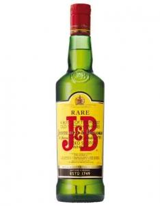 """Виски """"J & B RARE""""Джей энд Би  Рейр 40% 0,5л"""