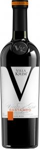 """Вино Бастардо кр.п/сл """"Villa Krim"""" 11-12% 0,75л."""