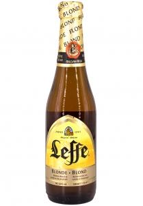 Пиво Леффе Блонд ст/б 6,6% 0,33 л.