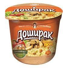 """Картофельное пюре """"Доширак"""" быстрого приготовления со вкусом ГРИБОВ 40 г"""