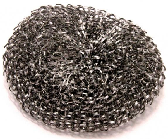 Мочалка из нержавеющей стали для посуды 1 шт