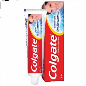 """Зубная паста """"Колгейт"""" бережное отбеливание (Colgate)  50 мл."""