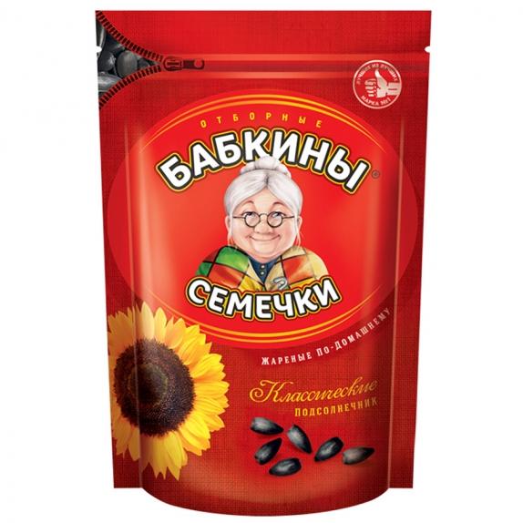 """Семечки """"Бабкины семечки"""" жареные 300 г"""