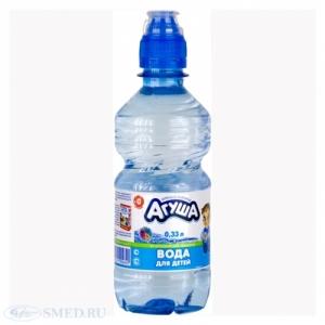 """Вода """"Агуша"""" для детей 0,33"""