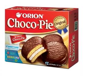 """Кондитерское изделие """"Choco Pie"""" (Чоко Пай) 336 гр.  12 шт"""