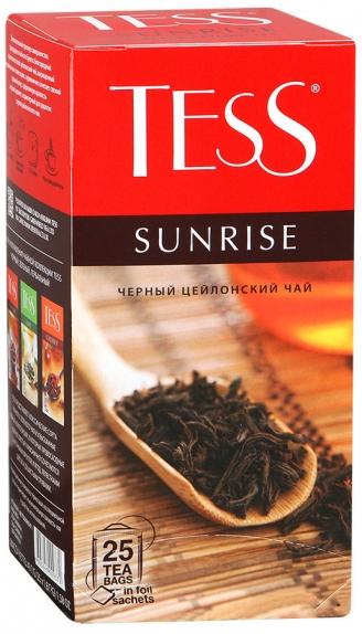 """Чай """"Тесс"""" Санрайз 25пак. черн."""