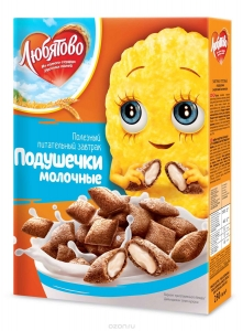 """Подушечки """"Любятово"""" с молочной начинкой 250 г"""