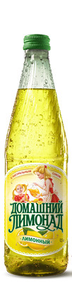 """Напиток газированный """"Домашний лимонад лимонный"""" (Бочкари) с/б  0,5 л."""