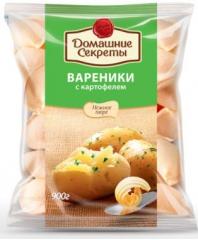 """Вареники с картофелем """"Домашние секреты"""" 450гр."""