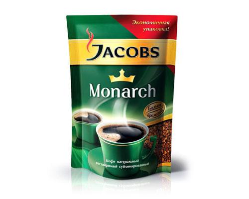 """Кофе """"Jacobs Monarh"""" (Якобс Монарх)  м/у 75 г"""