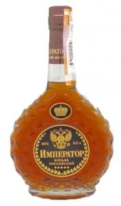 """Коньяк Российский """"Император"""" 5лет 40% 0.5л"""