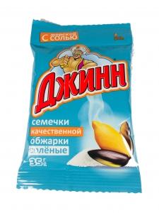 """Семечки """"Джинн"""" солёные 35 г"""