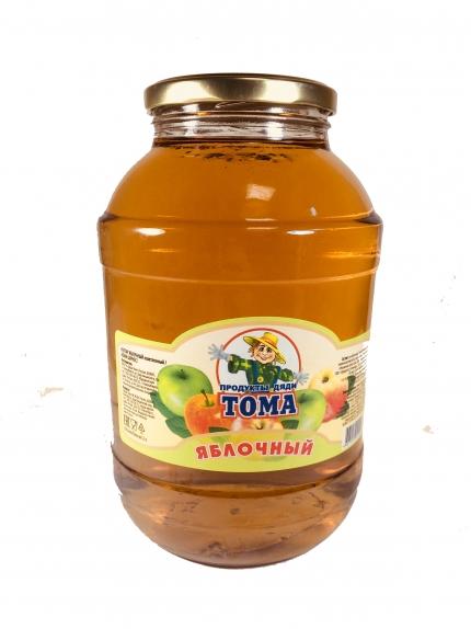 """Сок """"Тома"""" яблочный с/б  2 л."""