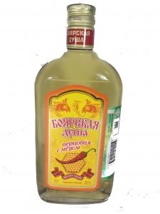 "Настойка горькая ""Боярская душа перцовая с медом"" 40% 0,25л."