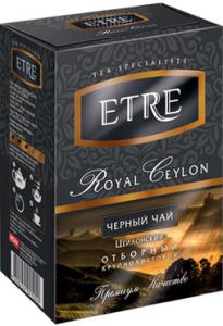 Чай черный цейлонский крупнолистовой 100г