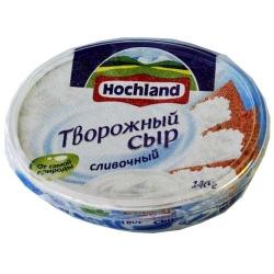 """Творожный сыр """"Hochland"""" сливочный 140 г"""