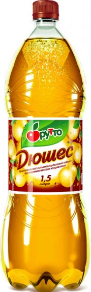 """Безалкогольный напиток """"Фрутто"""" дюшес (ПЭТ 1,5 л)"""