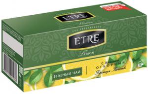 Чай зеленый с лимоном 25пак.