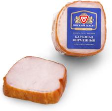 """Карбонад к/в в/у """"Омский бекон""""вес."""
