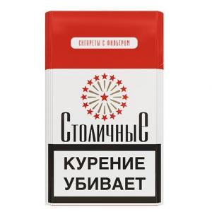 """Табачный набор сигареты с фильтром """"Столичные"""" и спички"""