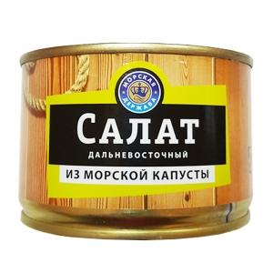 """Салат """"Дальневосточный"""" из морской капусты (Морская держава) 220 г"""