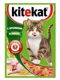 "Корм для кошек ""Китекет"" кролик 85 гр."