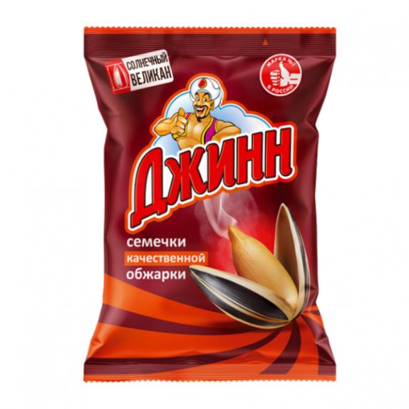 """Семечки """"Джинн"""" солнечный великан полосатые соленые   300 гр."""