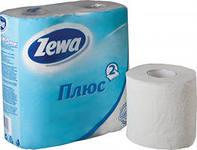 """Туалетная бумага """"Zewa"""" Зева 4 шт Белая"""
