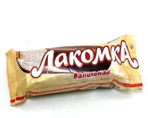 """Мороженое """"Лакомка"""" Ванильная 80 гр."""
