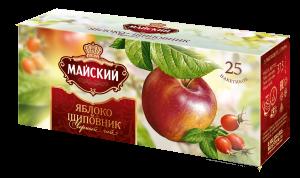 """Чай """"Майский"""" Яблоко-шиповник 25 шт*1,5 гр."""