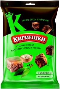 """Сухарики солёные """"Кириешки"""" со вкусом холодец/хрен  100 гр."""
