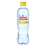 """Вода """"Святой источник лимон"""" негазированная пэт 0,5 л."""
