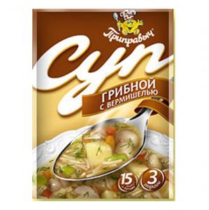 """Суп грибной с вермишелью """"Приправыч"""" 60 гр."""