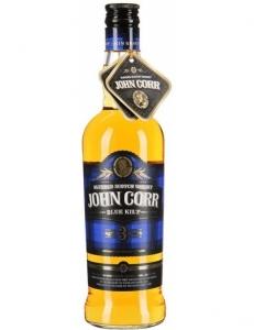 """Виски """"Джон Корр синий Килт"""" 40% 3 года 0,5 л"""
