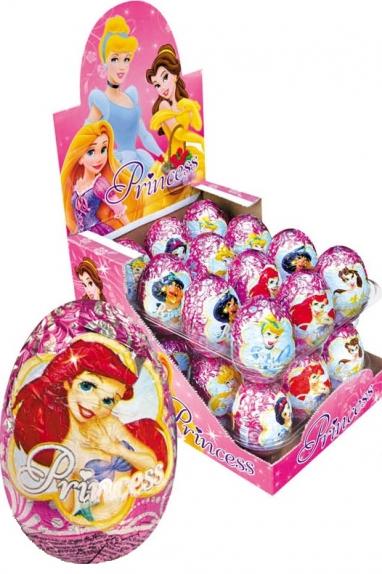 """Яйцо шоколадное """"Принцесса"""" 20 гр."""