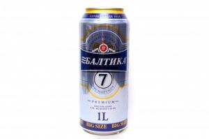 "Пиво ""Балтика"" №7 5,4% (ж.б. 0,9 л)"
