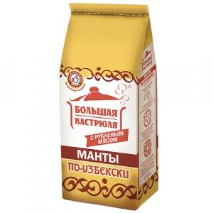 """Манты """"По-узбекски"""" Большая кастрюля  0,84 кг"""