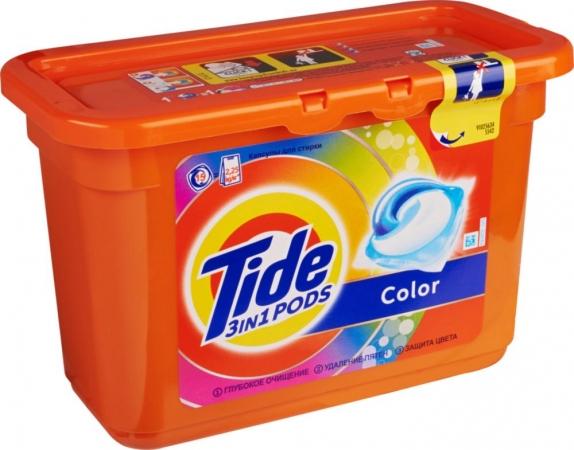 """Стиральный порошок """"Tide"""" капсулы 372 гр."""