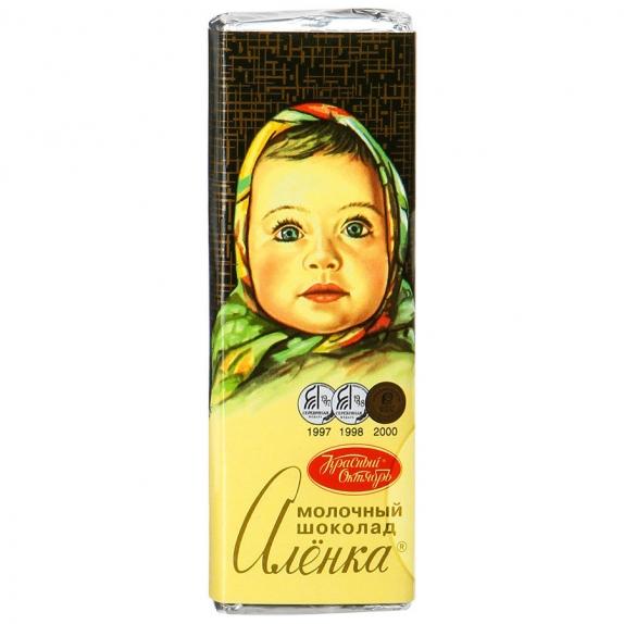 """Шоколад """"Алёнка"""" 20г."""
