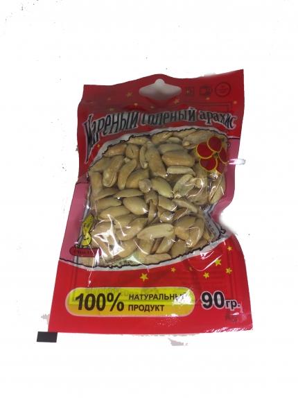 Жареный солёный арахис со вкусом сметана/зелень Jinhua Food в вакуумной упаковке, 70гр