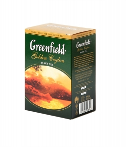 "Чай ""Greenfield"" Golden Ceilon чёрный 100г"