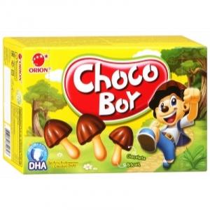"""Печенье затяжное """"Choco Boy"""" (Чоко Бой) глазирован. 42 г"""