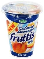"Йогурт ""Фруттис Сливочное лакомство"" в ассортименте 290 гр."