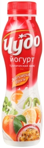 "Йогурт ""Чудо"" в ассортименте 2,4%  270 гр."
