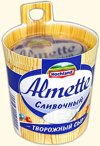 """Сыр творожный """"Almette"""" сливочный (Альметте) 150 г"""